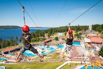 'Quẩy' hết mình tại các công viên giải trí nổi tiếng ở Thụy Điển