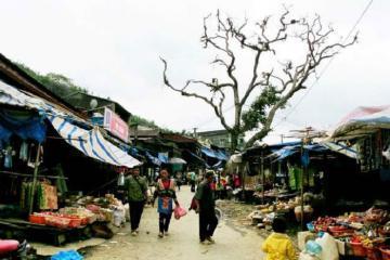 Có một chợ phiên Dào San Phong Thổnhư thế giữa núi rừng!