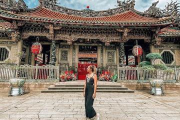 Hành trình đến thăm ngôi chùa Long Sơn Tự cổ kính nhất Đài Loan