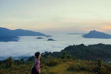 Săn mây và khám phá 'tiểu Đà Lạt' trên đèo Sa Mù Quảng Trị