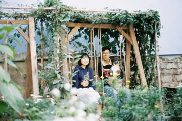 Một thoáng bình yên tại vườn Đom Đóm Đà Lạt
