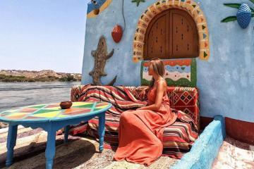 Thăm làng cổ Nubian đầy màu sắc ở Ai Cập