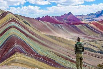 Hùng vĩ và rực rỡ ngọn núi cầu vồng Peru