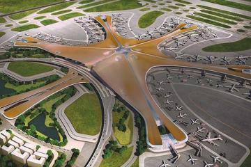 Cận cảnh Sân bay Đại Hưng 11,9 tỉ đô tại thủ đô Bắc Kinh