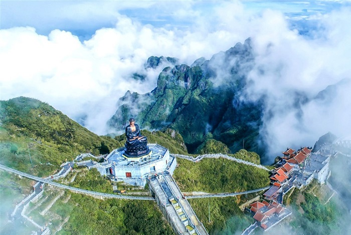 Kim Son Bao Thang pagoda in Sapa