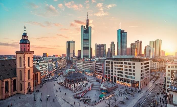 Thành phố Frankfurt Am Main - Thành phố đáng sống ở Đức