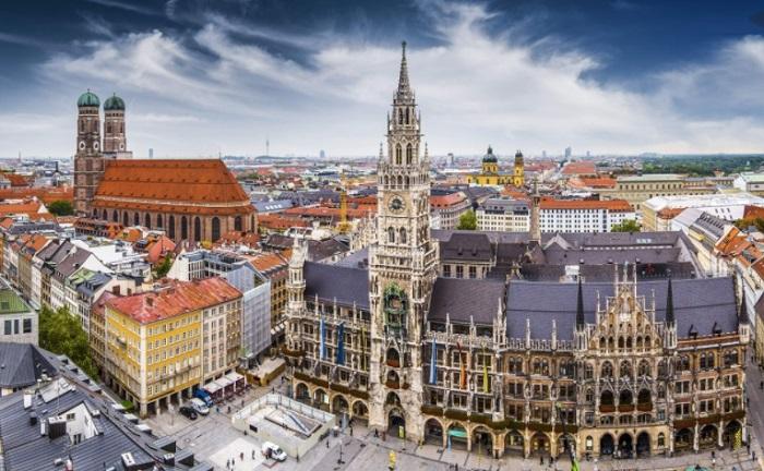 Thành phố Munich - Thành phố đáng sống ở Đức