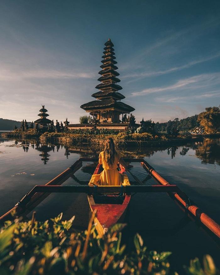 Pura Ulun Danu Beratan - Những nơi đẹp nhất để chụp ảnh ở Bali