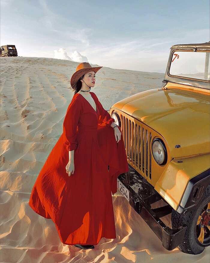 Kinh nghiệm du lịch Phan Thiết - khám phá Bàu Trắng