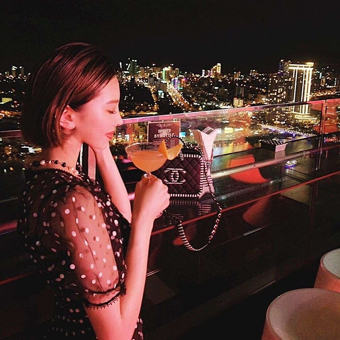 Sky 36 bar - night tourist destination in Da Nang can not be missed