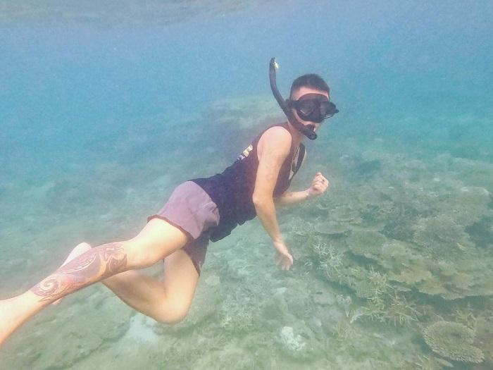 du lịch Côn Đảo chơi gì - lặn biển