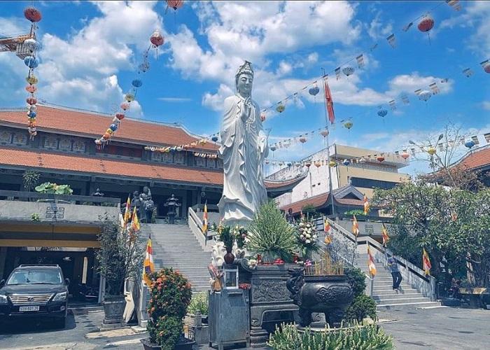 Vinh Nghiem Pagoda Saigon - where is the address