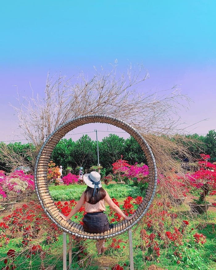 check in - exciting activities at Four Seasons Garden in Dong Nai