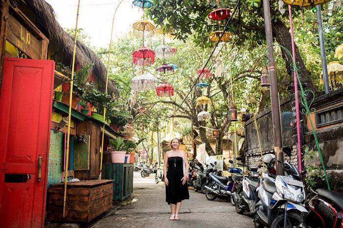 Một khu chợ đầy màu sắc ở Ubud - Những nơi đẹp nhất để chụp ảnh ở Bali