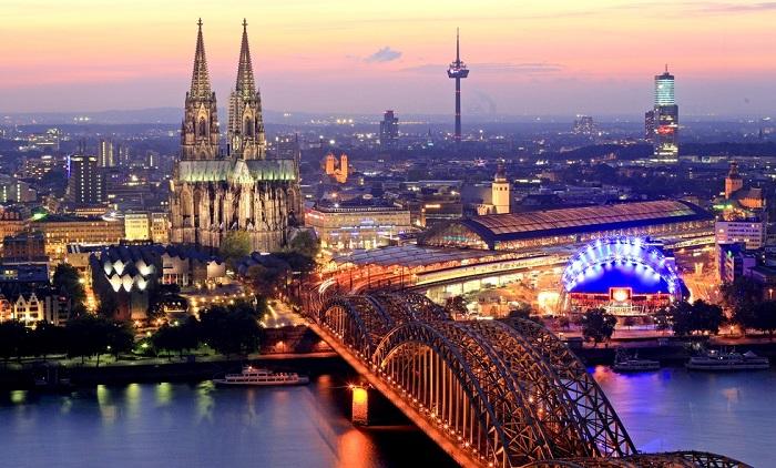 Thành phố Cologne - Thành phố đáng sống ở Đức