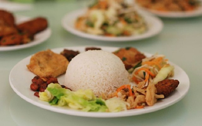 Giac Duc Vegetarian Rice - a delicious restaurant in Buon Ma Thuot famous near and far