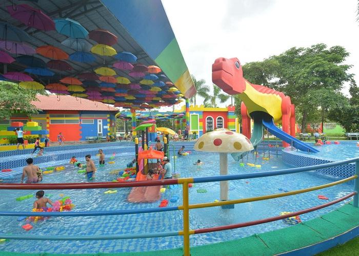 Công viên Lego Water Park - khu ngoài trời