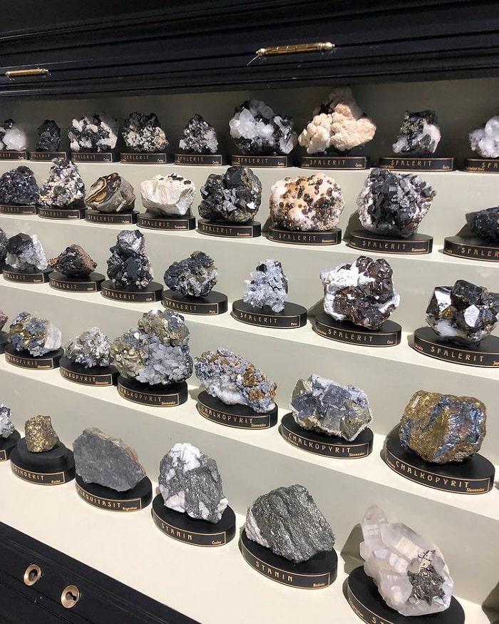 đá quý - bộ sưu tập ấn tượng của bảo tàng Quốc gia Séc