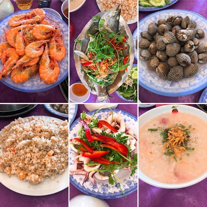 đặc sản đầm Ô Loan - món ăn hấp dẫn