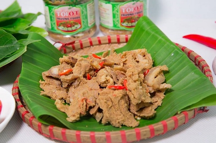 Phu Tho specialty as a gift - Thanh Son sour meat