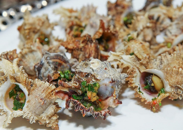 Snacks address in Phu Quoc - Hoai Thuong spiny snail