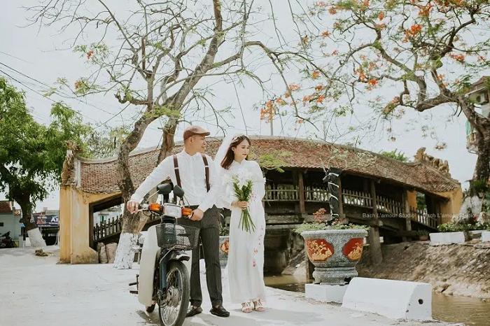 diadia- địa điểm chụp ảnh đẹp ở Nam Định- cầu ngói Chùa Lương