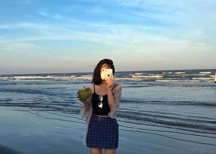 dia- địa điểm chụp ảnh đẹp ở Nam Định- bãi biển Thịnh Long
