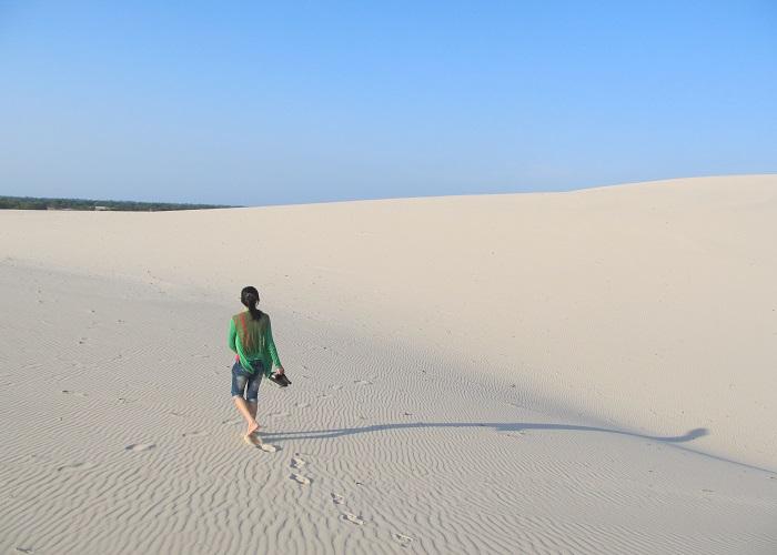 Đồi cát vàng Nhĩ Hạ - ở đâu Quảng Trị