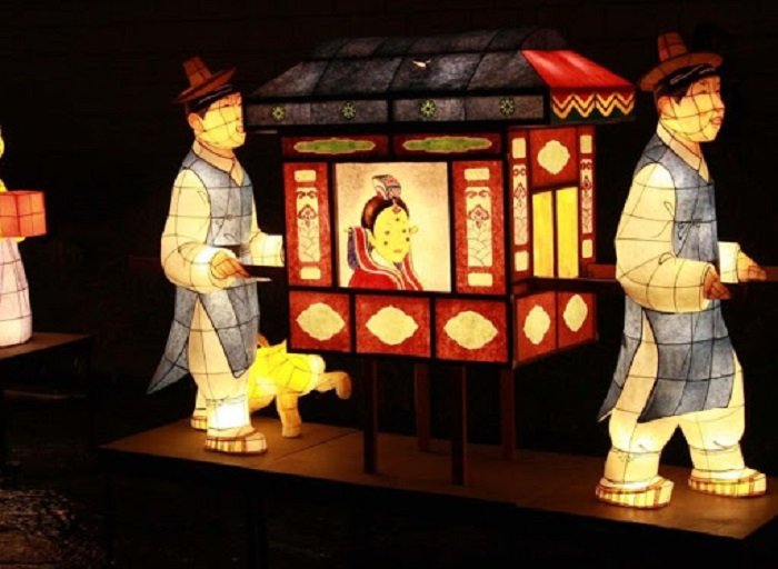 du lịch Hàn Quốc mua gì làm quà - đồ gấp từ giấy Hanji
