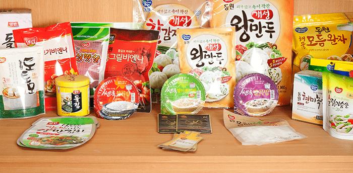 du lịch Hàn Quốc mua gì làm quà - đồ ăn đóng gói
