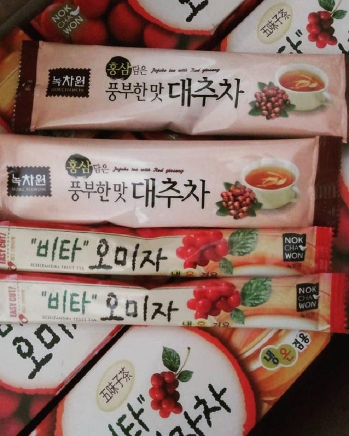 du lịch Hàn Quốc mua gì làm quà - trà omijacha