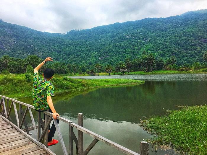 Hồ Ô Thum An Giang - đẹp nhất khi vào mùa mưa