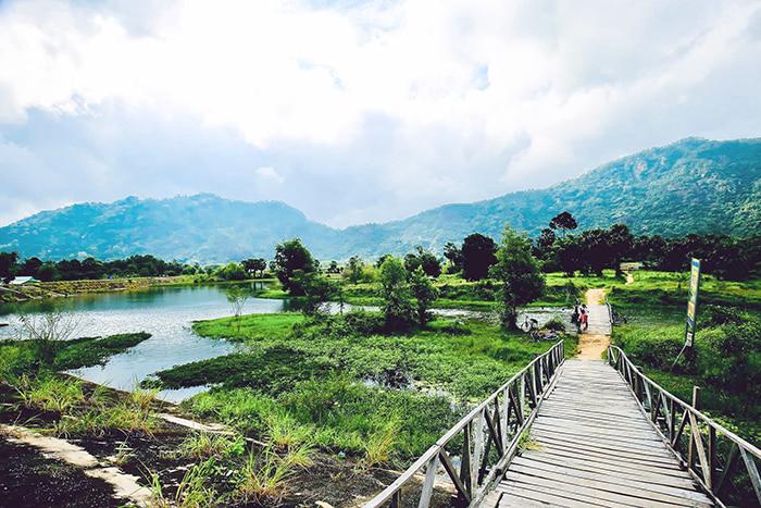 Hồ Ô Thum An Giang - thời gian được hình thành