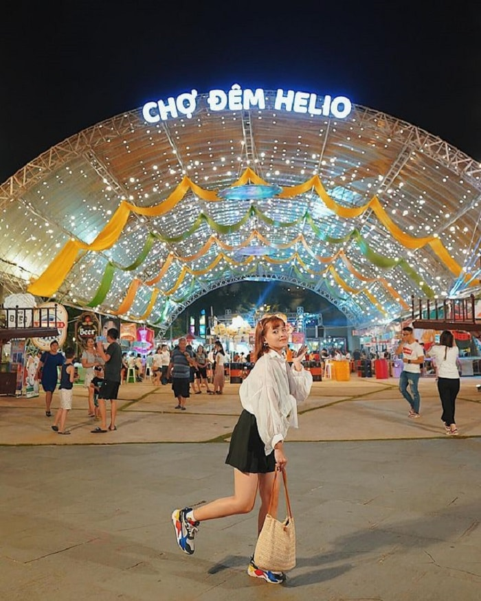Helio Night Market - a tourist destination in Da Nang that cannot be missed