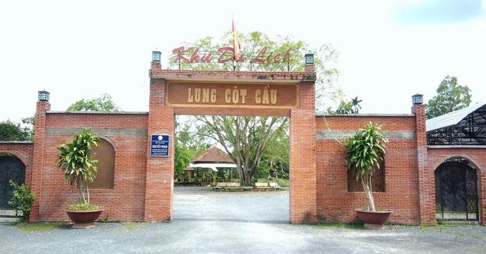 Khu du lịch sinh thái Lung Cột Cầu - địa chỉ ở đâu