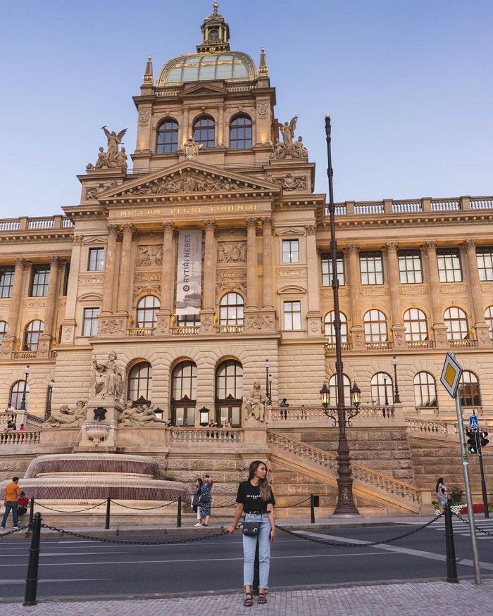 phong cách Phục Hưng - điểm nổi bật của bảo tàng Quốc gia Séc