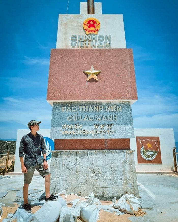 kinh nghiệm du lịch Quy Nhơn 3 ngày 2 đêm - check in Cù Lao Xanh