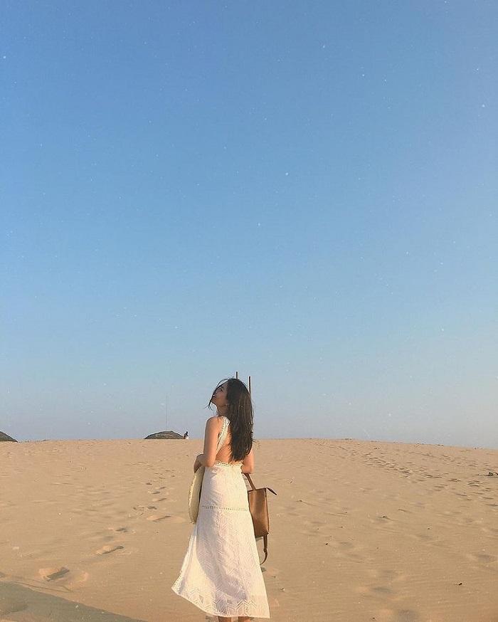 kinh nghiệm du lịch Quy Nhơn 3 ngày 2 đêm - checkin đồi cát Phương Mai