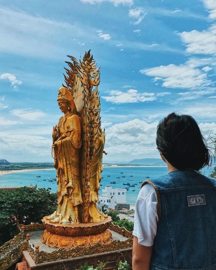 kinh nghiệm du lịch Quy Nhơn 3 ngày 2 đêm - Tịnh Xá Ngọc Hòa