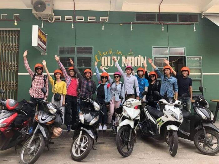 kinh nghiệm du lịch Quy Nhơn 3 ngày 2 đêm - thuê xe máy