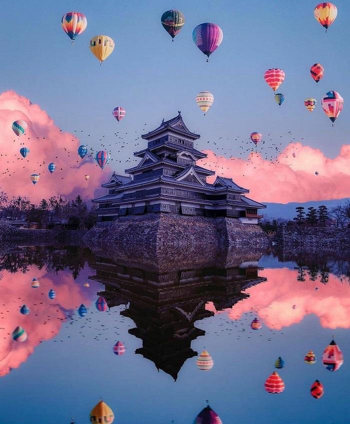 Matsumoto castle - ancient sights