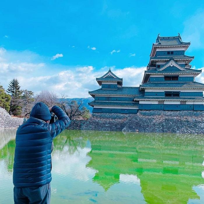 Matsumoto castle - skillfully built