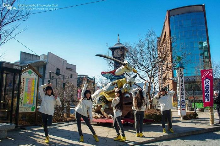 Matsumoto Castle - check in Frog Street
