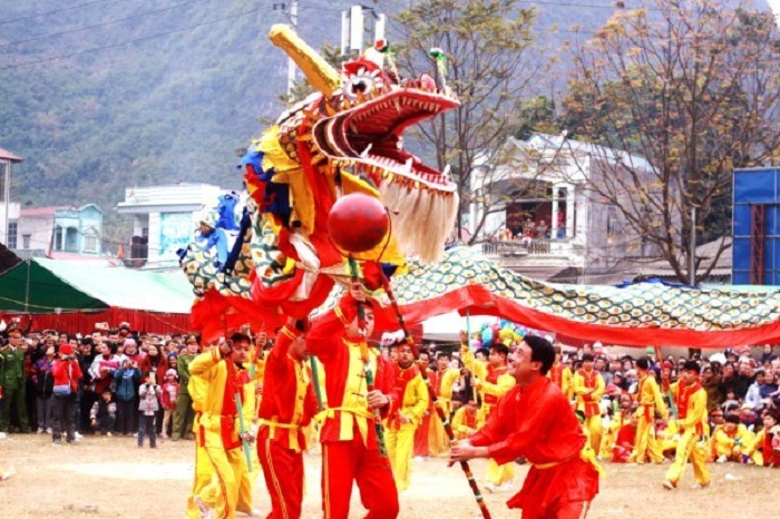 Quang Yen Fireworks Festival - a traditional festival in Cao Bang is famous near and far
