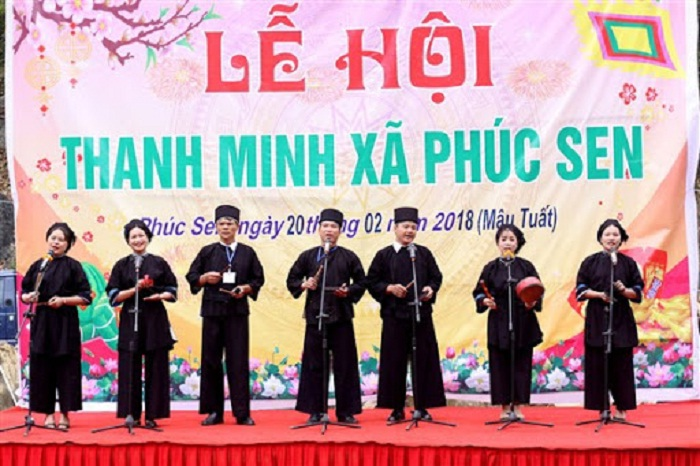 Thanh Minh festival - traditional festival in Cao Bang is famous near and far