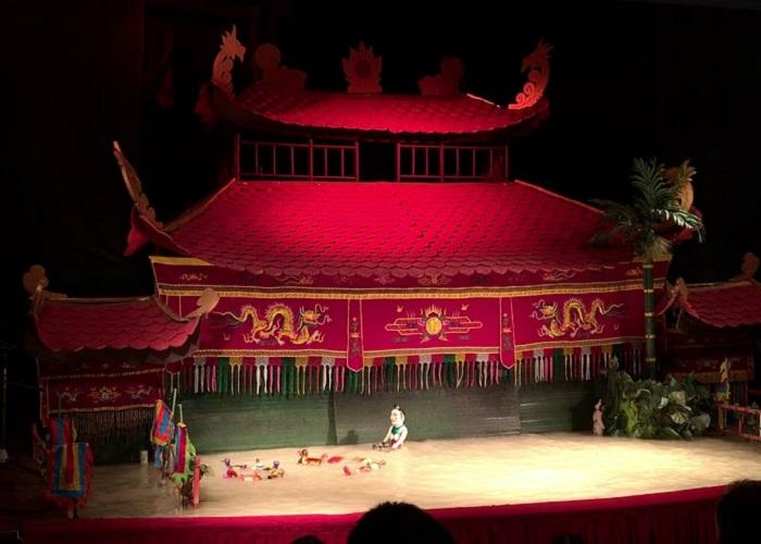 nhà hát múa rối nước Đảo Ngọc - khám phá