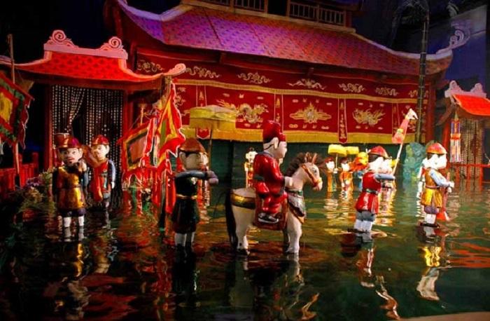 nhà hát múa rối nước Đảo Ngọc - tìm hiểu múa rối