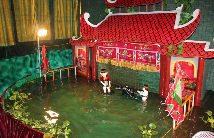 Dao Ngoc Water Puppet Theater - where