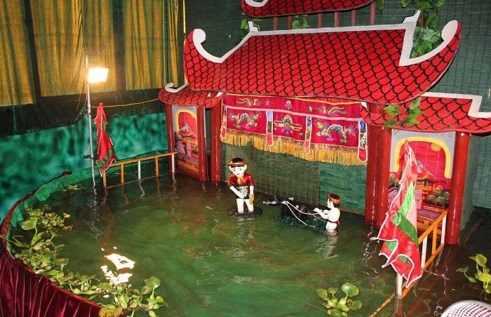 nhà hát múa rối nước Đảo Ngọc - ở đâu
