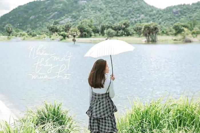 Hồ Ô Thum An Giang - Nhắm mắt lại thấy mùa hè
